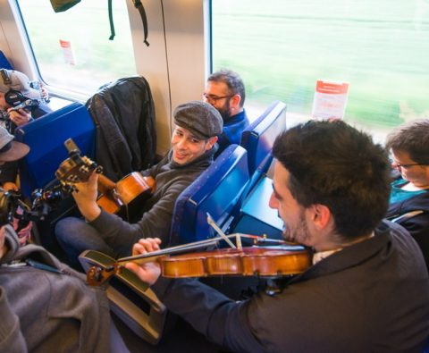 Madjid Fahem & Dániel Dudu Horváth @ Trouba Train Trip 2019